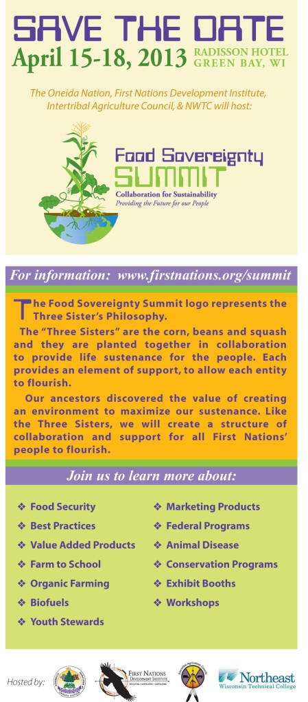 food sovereignty save the date
