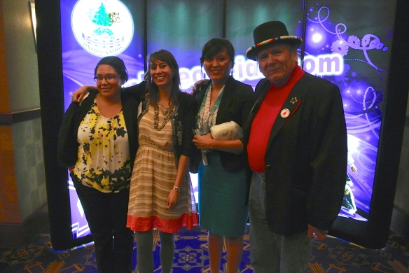 Bridging the Generations - Dennis Banks joins Dana Eldridge and two of her former students