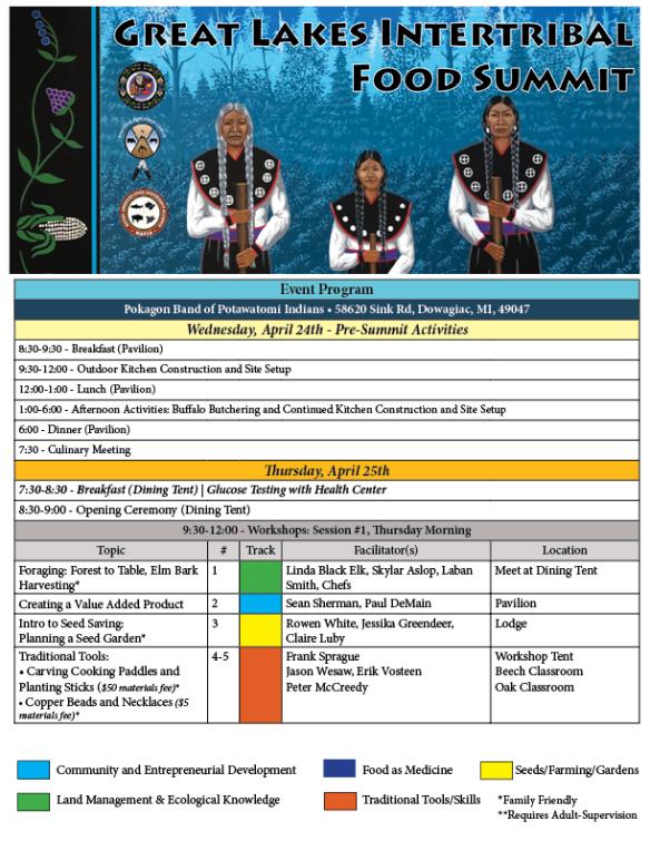 pokagon full schedule
